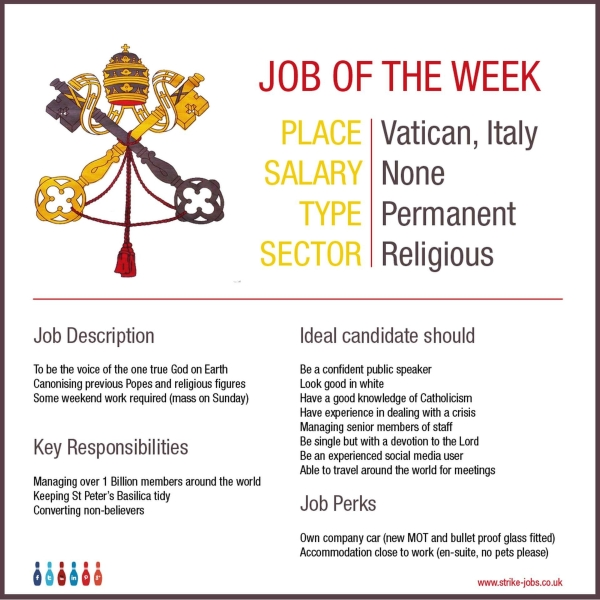 job-of-the-week-vatican-pope