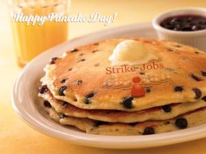 Strike Jobs Pancake