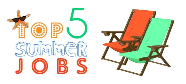 Top 5 Summer Jobs