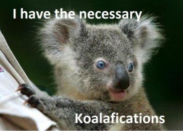 koalaifications