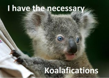 koalaifications