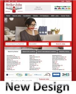 NEW homepage design